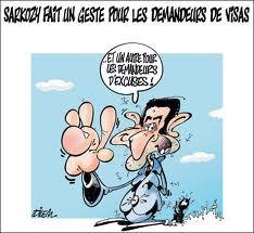 sarko,doigt d'honneur,algerie